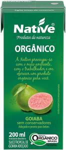 Suco Tropical de Goiaba Orgânica Native 200ml