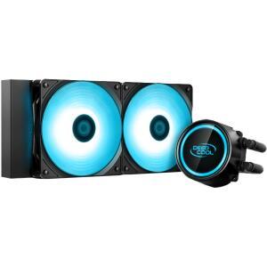 Water Cooler DeepCool Gammaxx L240T, LED Blue 240mm, Intel-AMD - R$289