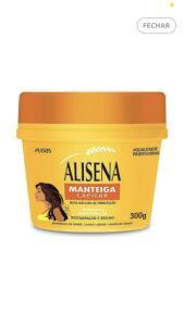 Máscara de hidratação Alisena Manteiga Capilar | R$ 3