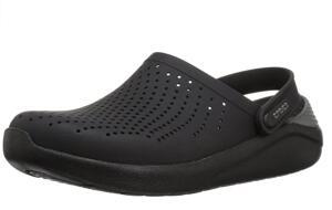 [PRIME] Sandália, Crocs, Literide - Black/Slate Gray   R$ 150