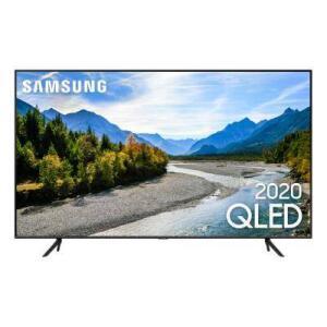 "Smart TV 4K Samsung QLED 50"" UHD QN50Q60T | R$2.944"