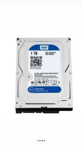 HD WD Blue, 1TB, 3.5´, SATA - WD10EZEX | R$300