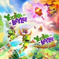 Yooka-Laylee: Buddy Duo Bundle - R$75
