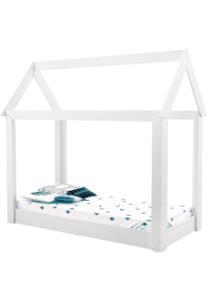Cama Infantil Montessoriana Manu Branco Brilho Carolina Baby R$ 190