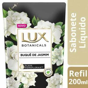 Sabonete Líquido Lux Botanicals Buquê de Jasmim Refil 200ml | R$2,25