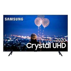 "TV LED 65"" Samsung TU8000 Smart Crystal UHD 4K Borda Infinita Múltiplos com Alexa - R$4179"