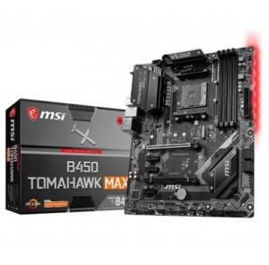 Placa-Mãe MSI B450 Tomahawk Max, AMD AM4, ATX, DDR4