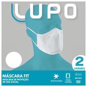 Kit Lupo Máscaras de Proteção (2 Unidades)