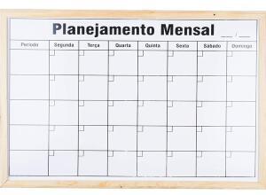 [PRIME] Quadro Branco de Planejamento Mensal 60x90