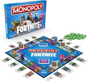 Jogo Monopoly Fortnite Hasbro | R$80