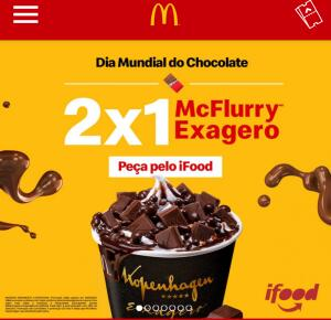 Dia do Chocolate 2x1 McFlurry
