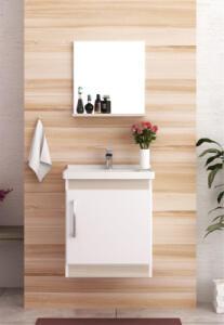 Conjunto Para Banheiro Economica Branco/Taeda Bosi R$ 210