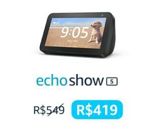 Prime - Dispositivos Echo com 30% OFF