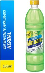 Desinfetante Herbal, Minuano, Verde, Pequeno (R$ 1,61)