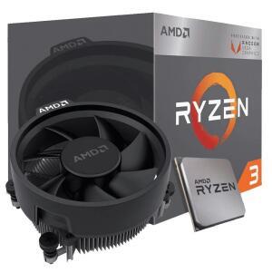 Processador AMD Ryzen 3 3200G 3.6GHz (4.0GHz Turbo)   R$ 589