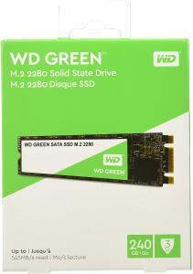 SSD, WD, Armazenamento Interno SSD, 240 GB | R$ 285
