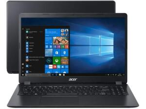 "Notebook Acer Aspire Ryzen 5 - 8GB 256GB SSD 15,6"" Placa Vídeo 2GB Windows 10"