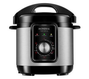 Panela de Pressão Elétrica Mondial PE-47 Pratic Cook 3L - Inox