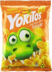 [2,49 comprando 5 un.] Yokitos Conchinha Queijo Yoki 153G