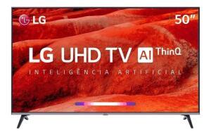 Smart Tv Led 50 Ultra Hd 4k LG 50um 751c 4 Hdmi 2 Usb Wifi R$ 2299