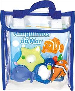 Livro de banho - Amiguinhos do mar | R$25