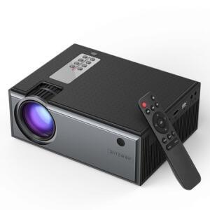 Projetor Blitzwolf® BW-VP1 LCD 2800 Lumen HD + Controle Remoto   R$418