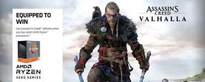 Compre AMD Ryzen e ganhe key Assassin's Creed Valhalla