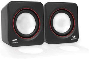 [Prime] | C3TECH SP-301 Speaker 2.0 Altos-Falantes para Computador | Preto R$ 29
