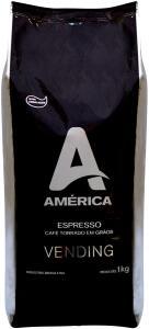 [Prime] Café Torrado em Grãos América Vending 1,0 Kg R$ 32