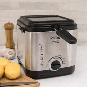 Fritadeira Elétrica Philco Deep Fry Inox 1,8l Prata R$ 199