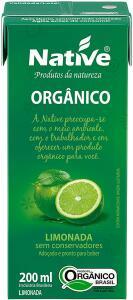 Limonada Orgânica Native 200ml   R$2