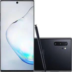 """[AME R$ 3.482 ] Samsung Galaxy Note 10 Plus Preto 256GB Tela 6.8"""" 12GB RAM"""