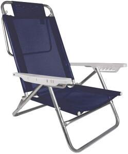 [PRIME] Cadeira de praia reclinável Mor Azul Royal