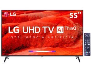"Smart TV LG LED 55"" 55UM7520PSB"