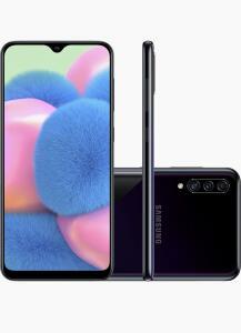 Smartphone Samsung Galaxy a30s 64gb dual chip Android Tela 6.4 câmera tripla