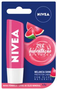 [50% OFF NA SEGUNDA UNIDADE] Hidratante Labial Nivea Fruty Shine Melancia 4,8g