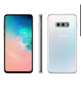 "[ CLUBE DA LU + APP ] Smartphone Samsung Galaxy S10e 128GB 4G-6GB RAM Tela 5,8"" Câm. Dupla + Câm. Selfie 10MP"