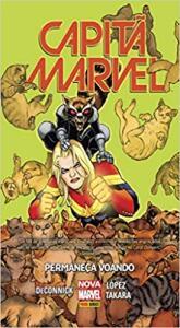 Capitã Marvel: Permaneça Voando (Português) Capa dura | HQ (Prime)