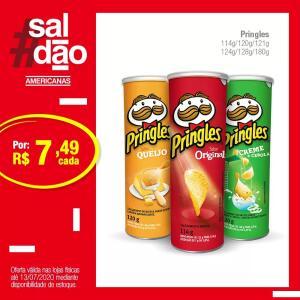 Batata Pringles R$7,49 (lojas físicas)