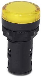 Sinalizador Led 110V Max Botton Steck Amarelo