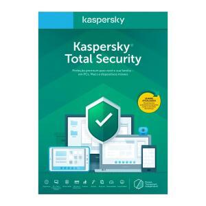 Kaspersky Antivírus Total Security 2020 Multidispositivos 1 PC - Digital para Download | R$ 30