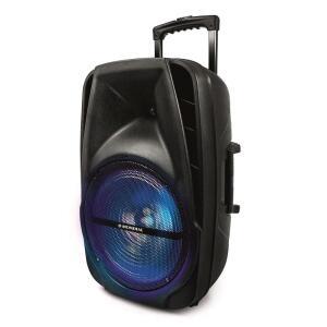 Caixa Amplificada Mondial Connect Party CM-14 com Bluetooth, USB e Rádio FM - 400W | R$ 455