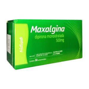 Maxalgina 500mg Natulab 30 Comprimidos - R$5
