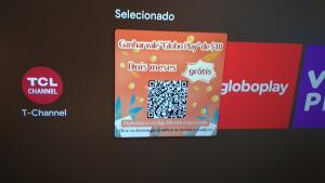 (Proprietários TV TCL) responda pesquisa e ganhe 2 meses de Globo play