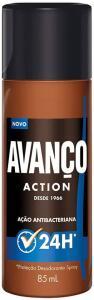 Desodorante Spray Avanço Action 85ml, Avanco