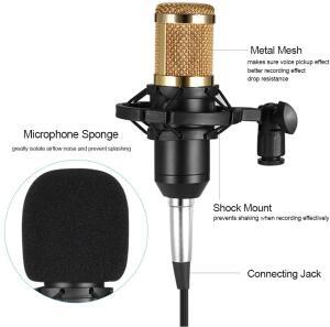 Microfone condensador Docooler BM800 R$ 127