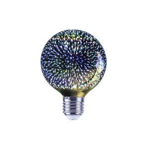 Lâmpada LED 3D Globo 4W Lexman Bivolt | R$50