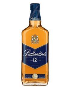 (PÃO DE AÇÚCAR - MAIS) Whisky Escocês Ballantine's 12 anos - 750ML