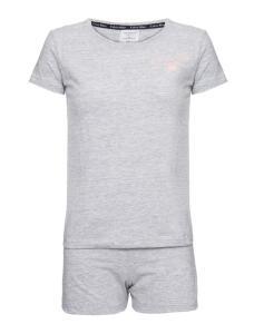 Pijama MARCA Calvin Klein Underwear - INFANTIL M/C E Short De Algodão - Mescla