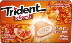[PRIME] Gomas de Mascar Carteira Tangerina Trident 18g | R$2